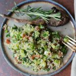 emily's fresh kitchen, eat heal thrive, gluten free tabouli, quinoa salad