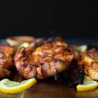 Emily's Fresh Kitchen, Eat Heal Thrive, Barbecue Bacon wrapped shrimp, paleo, scd