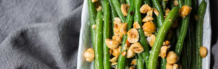 emily's fresh kitchen, green beans, hazelnuts, hazelnut oil