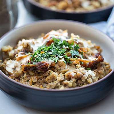 Emily's Fresh Kitchen, lentil bowls